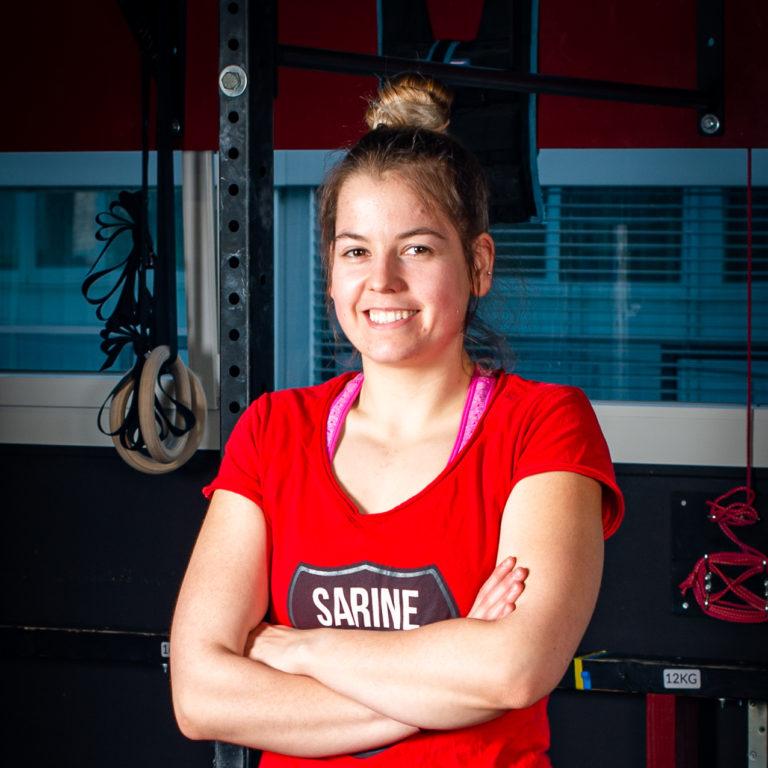 Sarine Center Coach Ysaline